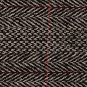 Spencers Trousers Red Grey Herringbone Wool