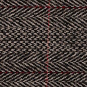Spencers Trousers Red Grey Herringbone Wool