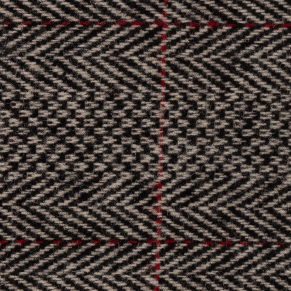 Red Grey Herringbone Wool – Plus Four  6b2eb1278797