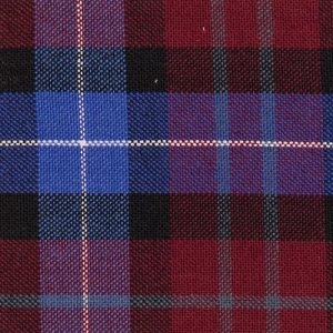 spencers trousers wool mix navy red tartan