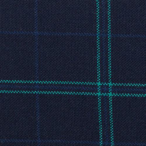 spencers trousers wool mix green windowpane